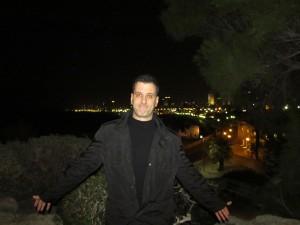Яффо. Порт. Ночной Тель-Авив