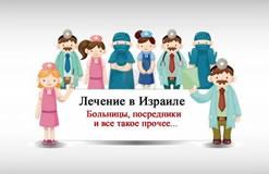 Лечение в Израиле. Посредники, больницы, государственный цены