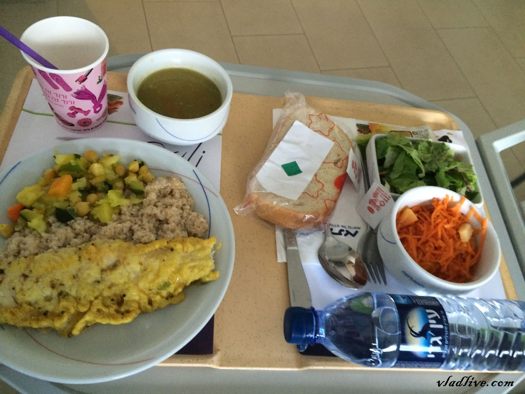 Клиника Ассута. Больничная еда