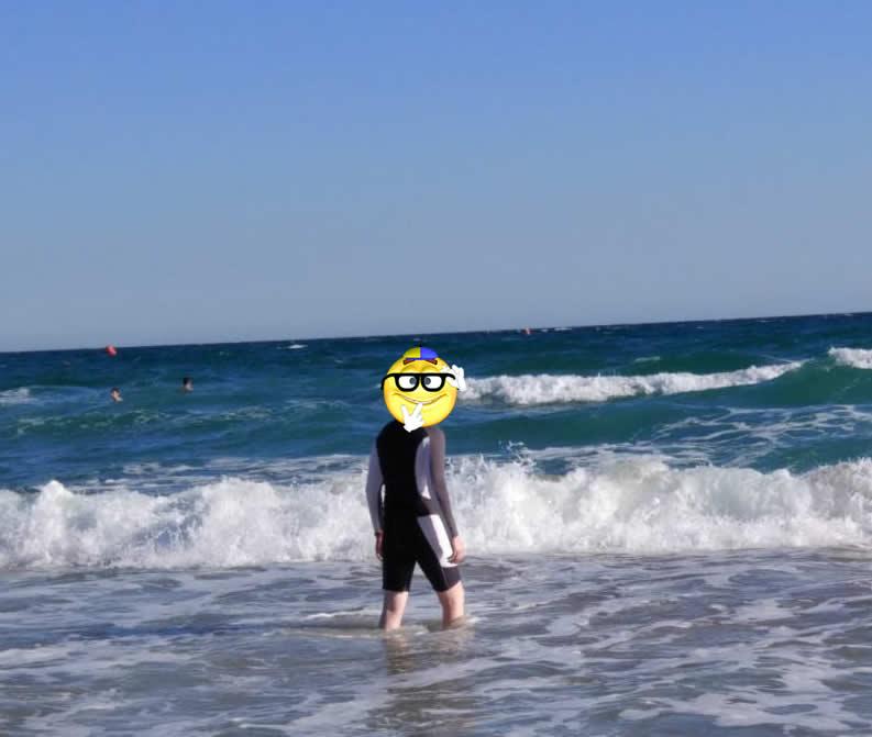 Море и пляж для пациента с меланомой