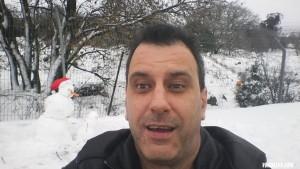 Снег на Голанских высотах