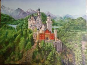 Замок. Монументальное произведение!