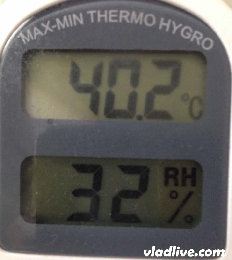 Весенняя температура в Израиле