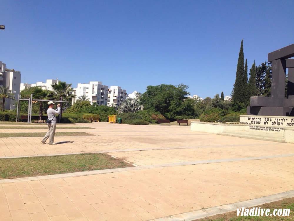 Памятник жертвам Ришон Лецион