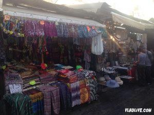 Рынок Кармель в Тель Авиве. Сувениры и одежда
