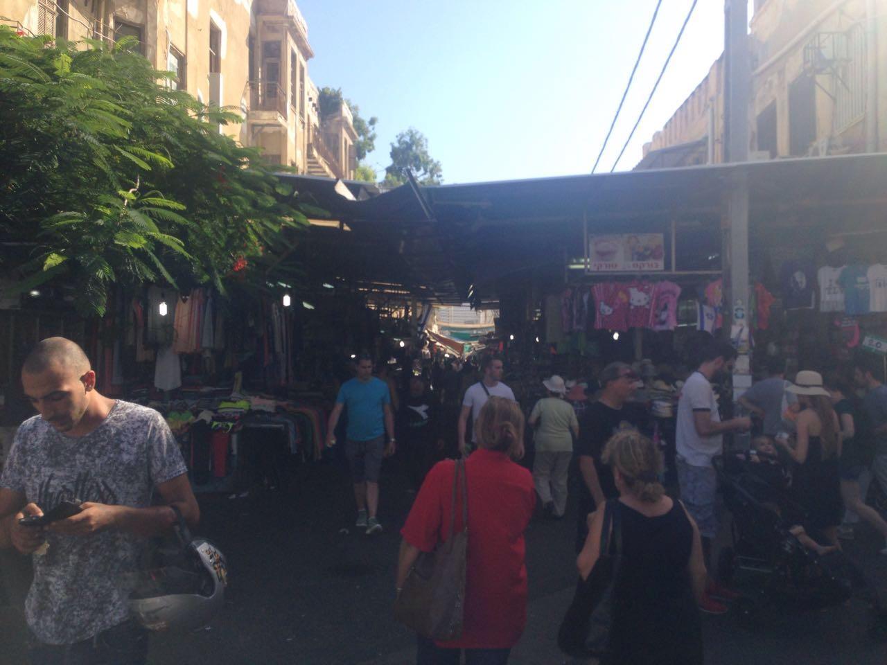 Рынок Кармель в Тель Авиве