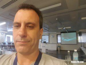 Дядя Вадик в офисе Merck (MSD) Израиль.