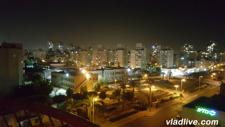 Ночной Ришон леЦион