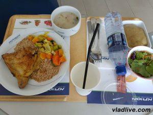 Клиника Ассута. Еда