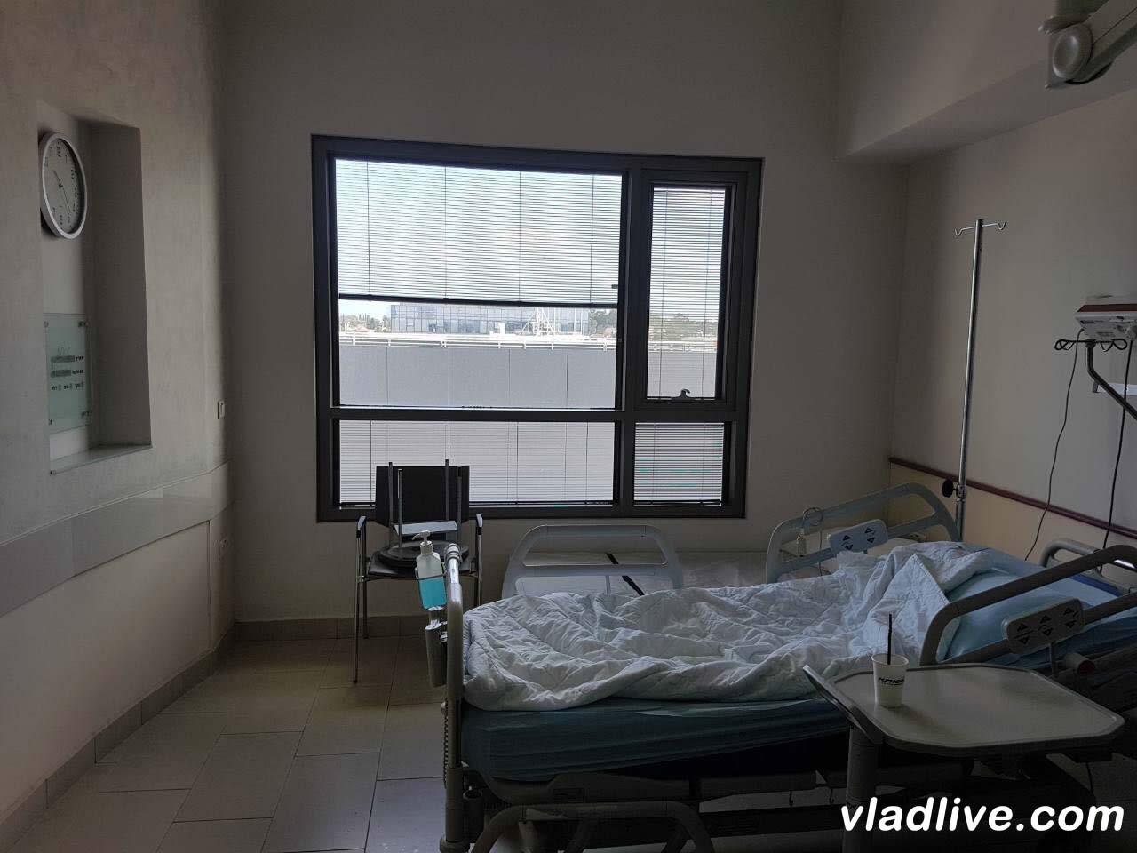 Клиника Ассута. Палата. Фото