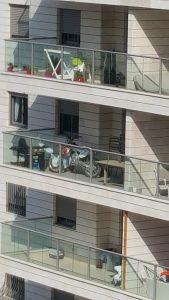 Балконы в Израиле