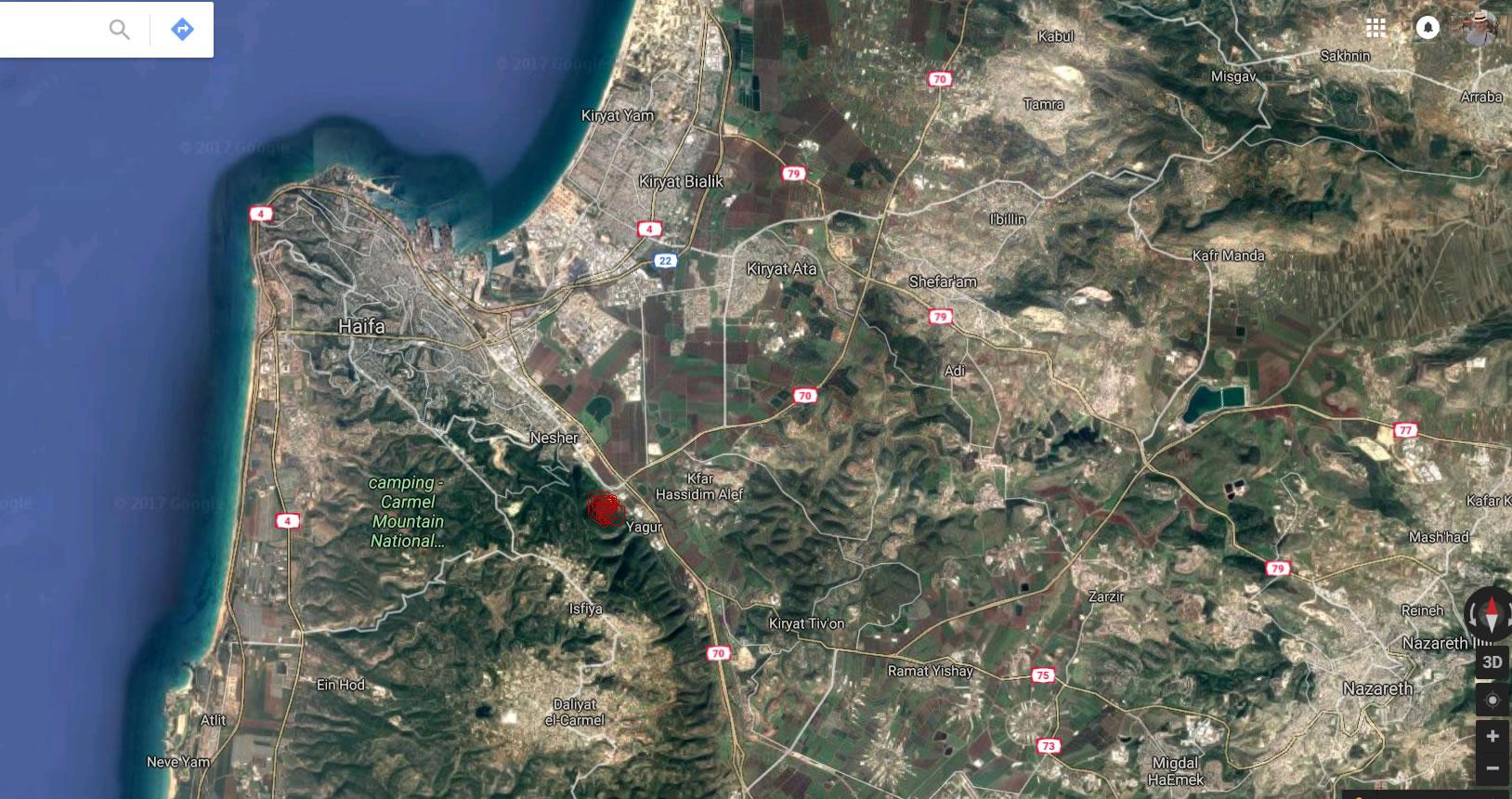 Израиль. Гора Кармель