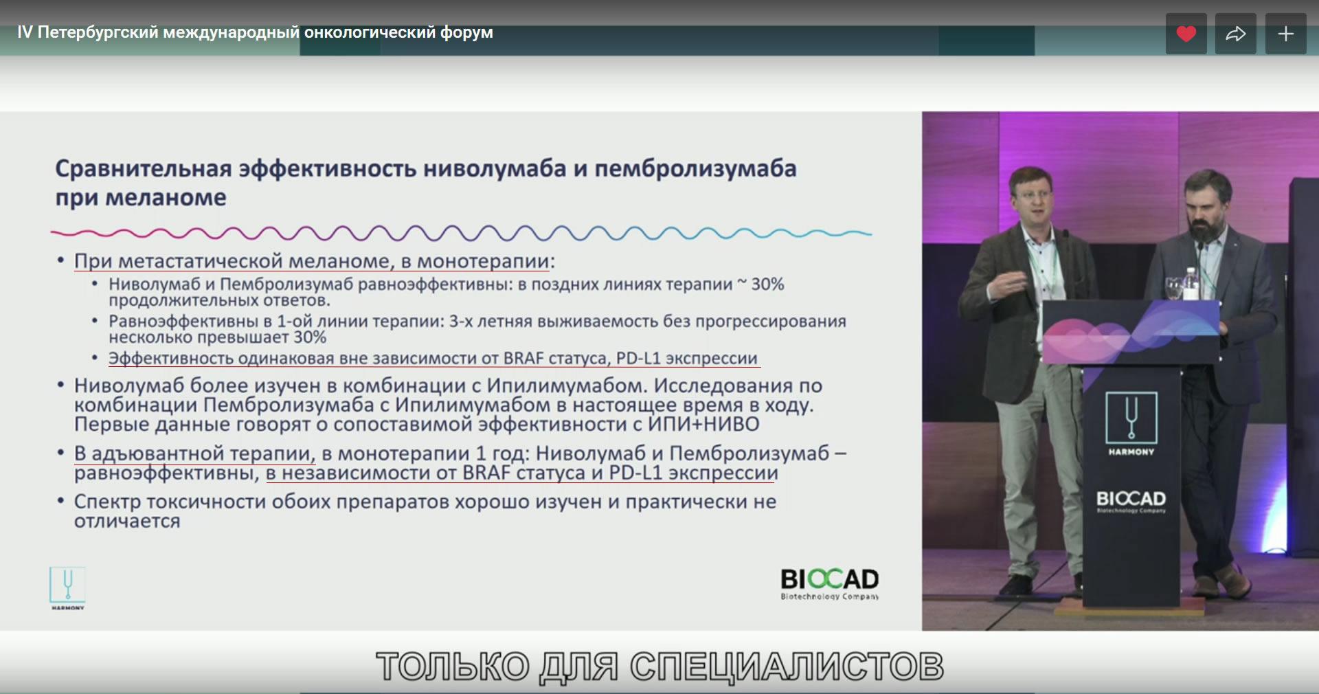 Опдиво, Кейтруда, экспрессия PD-L1