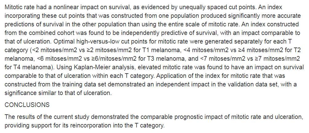 Митозы, митотический индекс