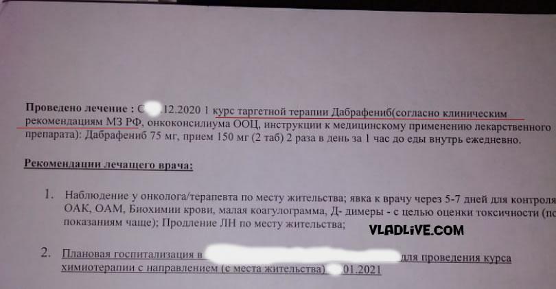 Лечение меланомы в РФ. Клинические рекомендации
