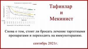 Тафинлар и Мекинист в лечении меланомы